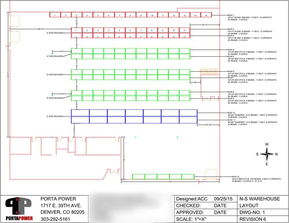 Layout Design Porta Power
